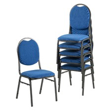 Premium Stackable Office Visitor Conference Chair (Set of 6)
