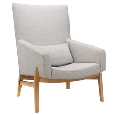 Light Grey Ronoldo Armchair