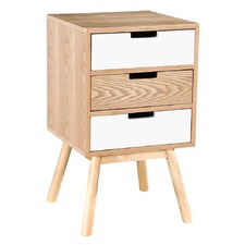 3 Drawer Norway Bedside Table