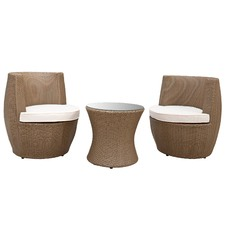3 Piece Tower Outdoor Stacking Furniture Set
