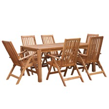 7 Piece Palma Majorca Outdoor Timber Dining Set