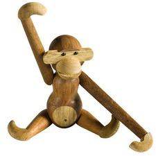 Kay Bojesen Replica Teak Monkey Figurine