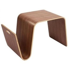 Walnut Eric Pfeiffer Replica Offi Scando Side Table