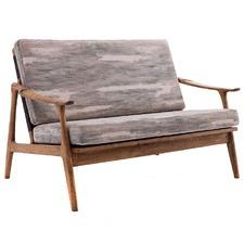 Camouflage Frida Scandinavian 2 Seater Sofa