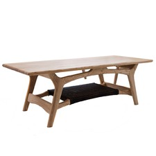Natural & Black Tilda Scandinavian Coffee Table