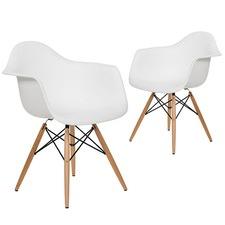 Eames Replica DAW Dining Armchair (Set of 2)