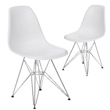 Eames Replica DSR Eiffel Base Side Chair (Set of 2)