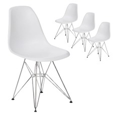 Eames Replica DSR Eiffel Base Side Chair (Set of 4)