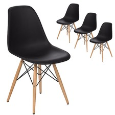 Eames Reproduction Dining Side Chair (Set of 4)