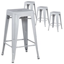 Xavier Pauchard Premium Replica Tolix Bar Stool (Set of 4)