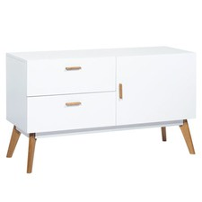 White 2 Drawer Vasby Sideboard
