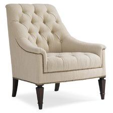 Beige Loki Accent Chair