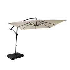 Beige Majorca Outdoor Cantilever Umbrella
