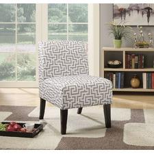Geometric Maze Ollano Accent Chair