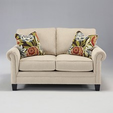 Linen Ballari Love Seat