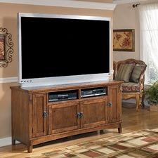 Large Cross Island TV Stand