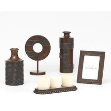 Antique Copper Oriel Home Décor Accessory Set