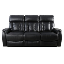 Miami Recliner 3 Seater Lounge Sofa