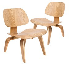 Replica Eames Plywood Lounge Chair (Set of 2)