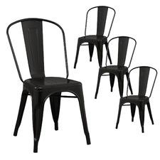 Tolix Premium Chair Xavier Pauchard Reproduction Pack (Set of 4)