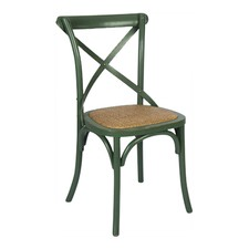 Antique Green Bella Crossback Dining Chair