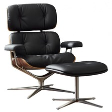 Eames Inspired Premium MDX Lounge Chair & Ottoman