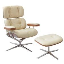 Eames Inspired Premium MDX Lounge Chair & Ottoman