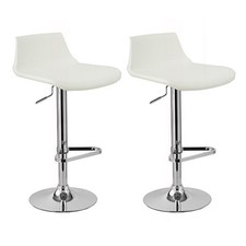 Adjustable Manhattan Swivel Bar Stools (Set of 2)