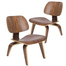 Eames Replica Plywood Lounge Chair (Set of 2)