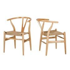 Hans Wegner Replica Wishbone Chair (Set of 2)