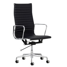 Eames Replica Leather High Back Management Office Chair