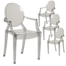 Philippe Starck Replica Ghost Armchair (Set of 4)