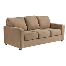 Quartz Zeb 3 Seater Double Sofa Bed