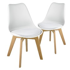 Stockholm Shell Dining Chairs (Set of 2)