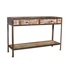 Toulouse Industrial 2 Drawer Console Table