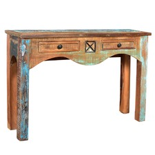 Mulhouse Industrial 2 Drawer Console Table