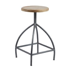 Colombes Industrial Counter Stool