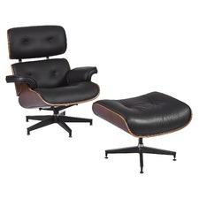 Eames Classic Replica Lounge Chair & Ottoman