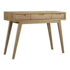 Natural Skov Dressing Table Console