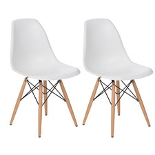 Eames Replica DSW Dining Side Chair (Set of 2)