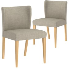Madison Fabric Dining Chairs (Set of 2)