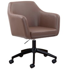 Brown Manhattan PU Home Desk Chair