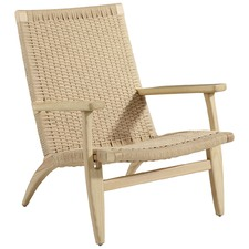 Rope Knitted Leisure Armchair
