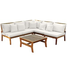 Anquilla Outdoor Lounge Set with Cushions