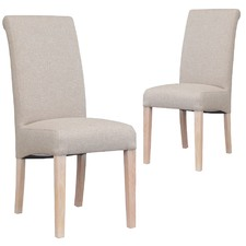 mission upholstered dining chair set of 2