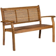 Valencia 3 Seater Outdoor Timber Bench