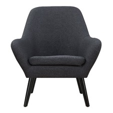 Dark Grey Memphis Armchair
