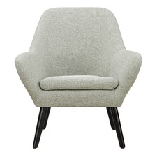 Cement Grey Memphis Armchair