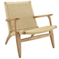 Hans Wegner Replica CH25 Easy Woven Chair