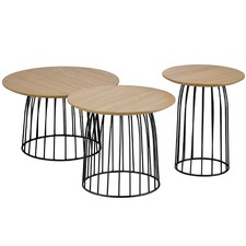 3 Piece Dane Side Table Set